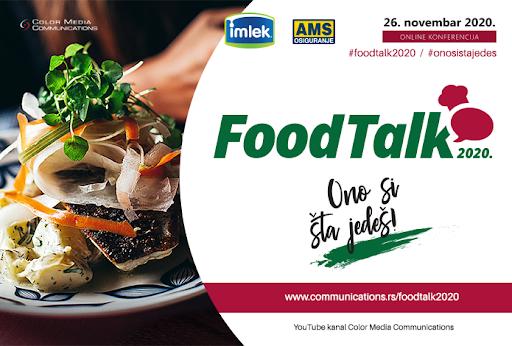 Photo of FOOD TALK 2020 – Ono si što jedeš! Prva on line konferencija (26. novembar)