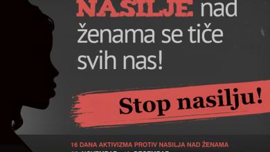 Photo of 16 dana aktivizma protiv nasilja nad ženama