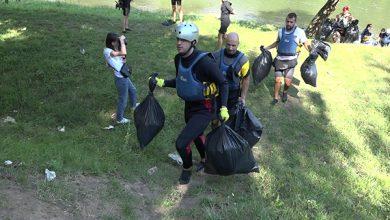 Photo of Volonteri iz cele Srbije čistili Lim